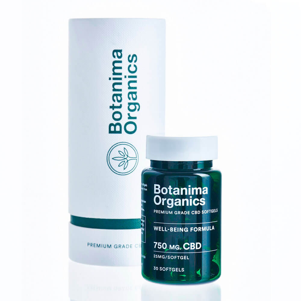 Premium-CBD-Softgels-25mg-Well-being-Formula-Botanima-Organics