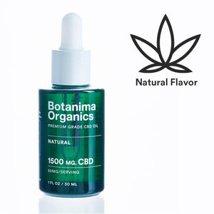 Premium-Grade-CBD-Oil-Tincture-1500mg-Natural-Flavor-Icon-Well-being