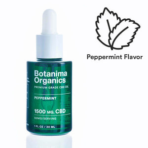 Premium-Grade-CBD-Oil-Tincture-1500mg-Peppermint-Flavor-Icon-Well-being