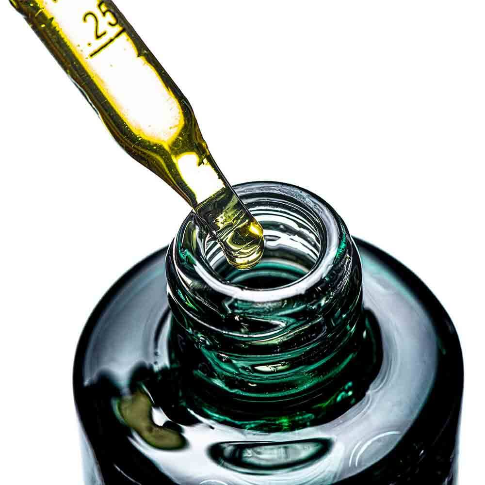 Premium-Green-CBD-Oil-Tinctures-Bottle-Close-up-With-the-Pipette-Botanima-Organics