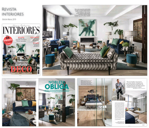 Interior Magazine March 2019 Kaymanta carpets at Raúl Martins Project