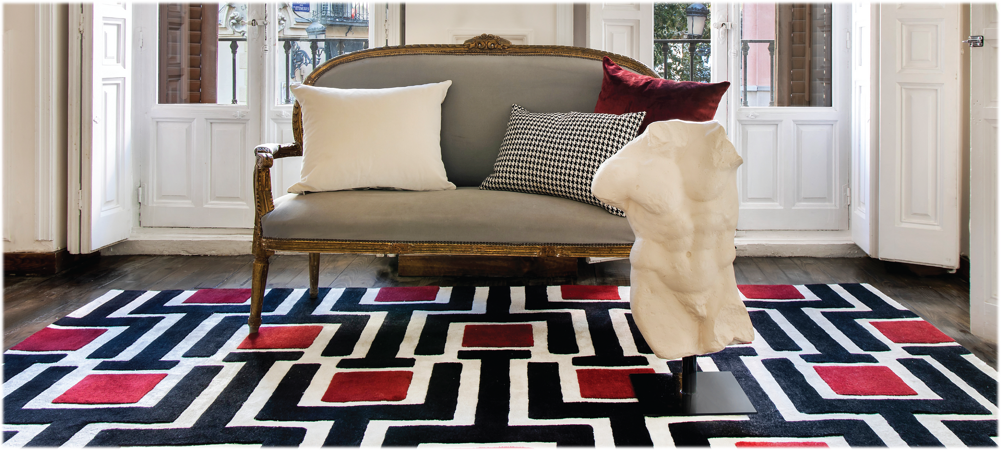 Ellas Home and Contract Rug Collection by Fabian Niguez for Kaymanta