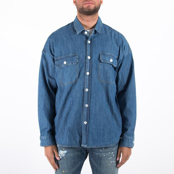 THE COLTON SHIRT - WASHED INDIGO