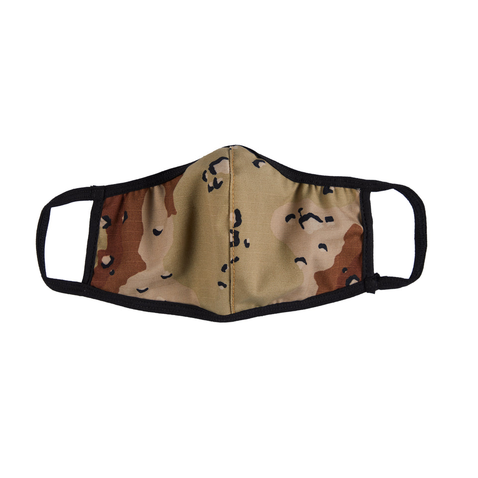 FACE SHIELD V.2 - DESERT CAMO
