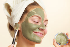 DIY Super Greens Mask For Dry Skin