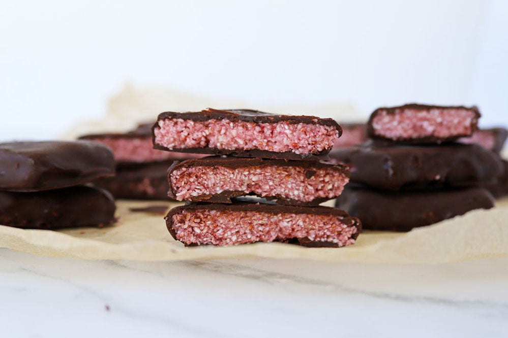 Protein Cherry Ripe Bars
