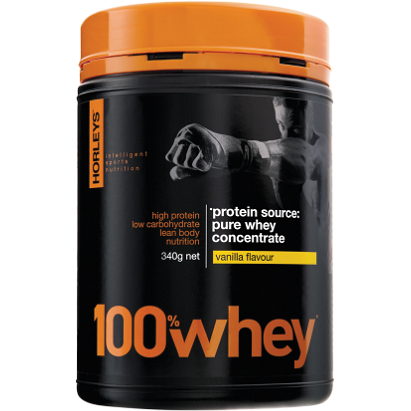 100% Whey 340g by Horleys