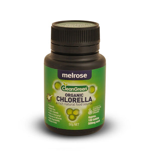 Melrose CleanGreen Chlorella 500mg 100 Tablets