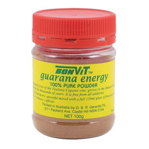 Guarana Powder 100g by Bonvit