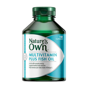 Multi Vitamin Plus Omega 3 Fish Oil 150 Capsules by Natures Own