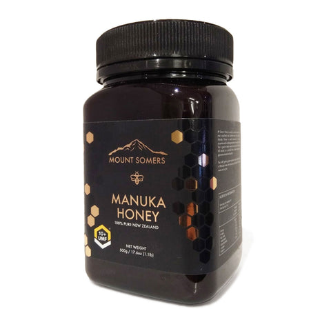 Image of Manuka Honey UMF10+ 500g by Mount Somers