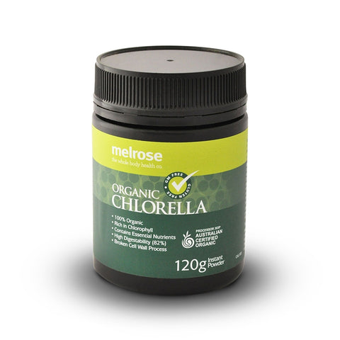Melrose CleanGreen Organic Chlorella Powder 120g