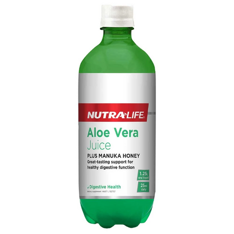 Image of Aloe Vera (Organic) plus Active Manuka Honey by Nutra Life