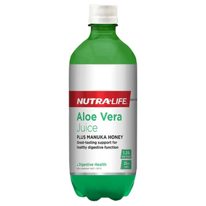 Aloe Vera (Organic) plus Active Manuka Honey by Nutra Life