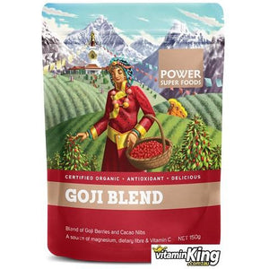 Goji Blend (Organic) 150g by Power Super Foods