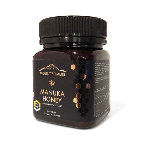 Manuka Honey UMF15+ 250g by Mount Somers