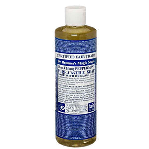 18 in 1 Hemp Pure Castille Soap 230ml by Dr Bronners