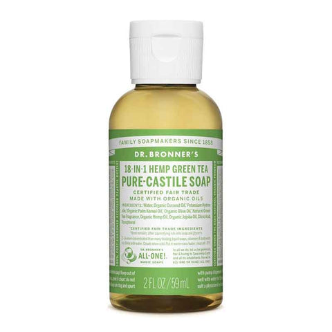 18 in 1 Hemp Pure Castille Soap 59ml by Dr Bronners