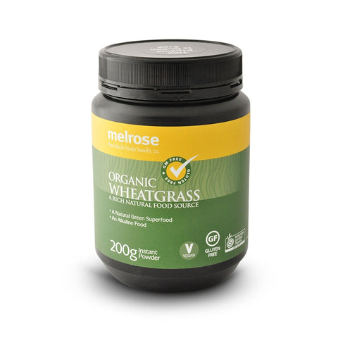 Clean Green WheatGrass Powder (Organic) 200g by Melrose Health Supplies