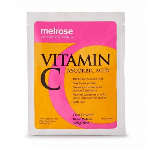 Vitamin C Ascorbic Acid Powder 125g by Melrose
