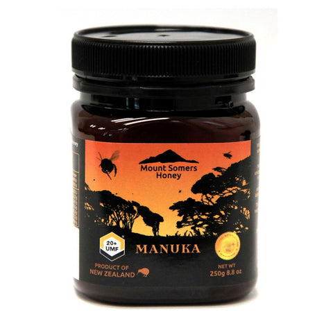 Image of Manuka Honey UMF20+ 250g by Mount Somers