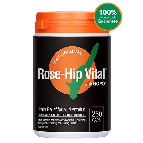Image of Rosehip Vital Capsules by Rose-Hip Vital Australia