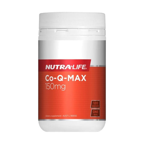 Image of Co-Q Max 150mg (Co-enzyme Q10) by Nutra Life
