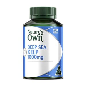 Kelp - Deep Sea 1000mg 200 Tablets by Natures Own