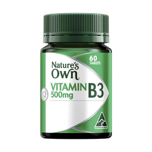 Vitamin B3 500mg Tablets by Natures Own