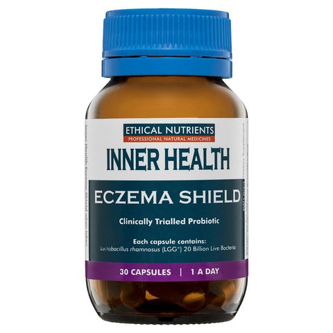 Ethical Nutrients Inner Health Eczema Shield 30 Capsules