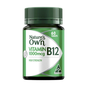 Vitamin B12 1000mcg Tablets by Natures Own