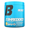 2 Shredded 45 Serve by Beast Sports Nutrition