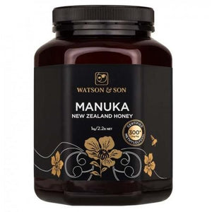 300+ MGO Manuka Honey Black Label 250g by Watson & Son