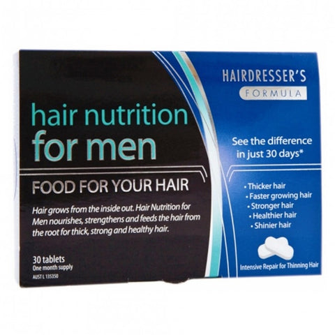 Hair Nutrition For Men Tablets by Hairdressers Formula