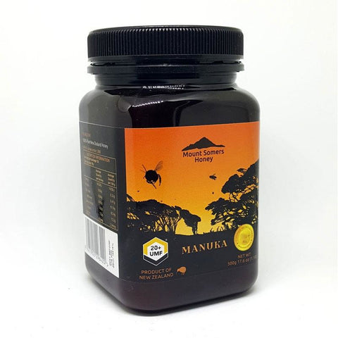 Manuka Honey UMF20+ 500g by Mount Somers