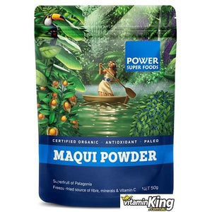 Maqui Berry Powder (Organic) 50g by Power Super Foods