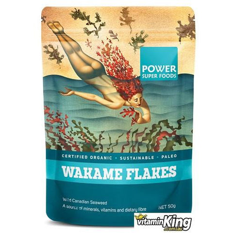 Wakame Flakes (Organic) 50g by Power Super Foods
