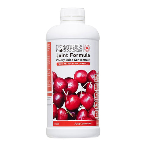 Joint Formula Cherry Juice Concentrate 1 Litre by Natures Goodness