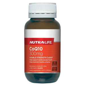 CoQ10 300mg Double Strength by Nutra Life