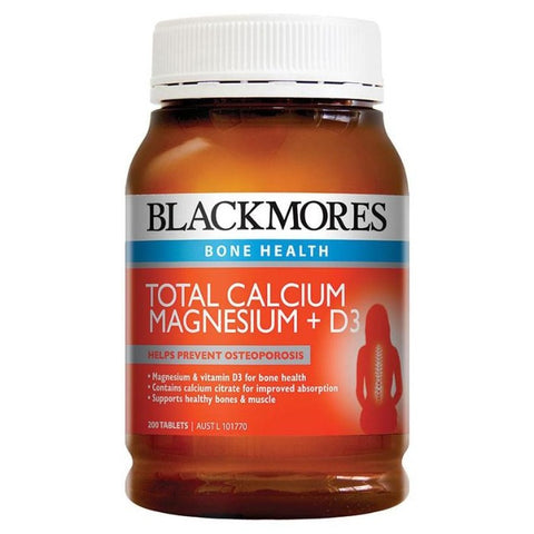Image of Total Calcium + Magnesium + D3 by Blackmores