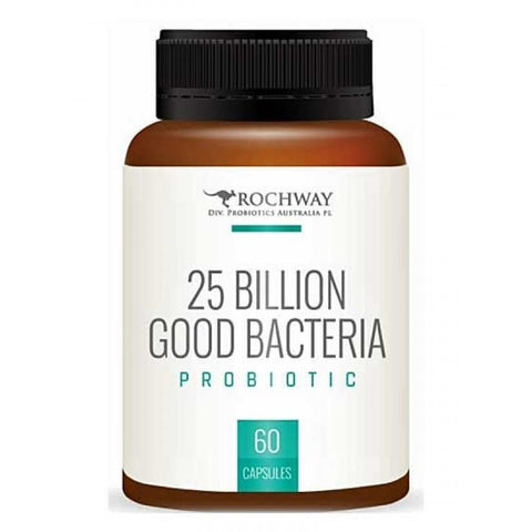 Rochway 25 Billion Good Bacteria 60 Capsules