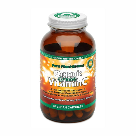 Pure Plant Source Organic Green Vitamin C Capsules