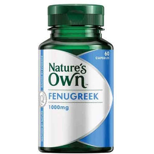 Fenugreek 1000mg Capsules by Natures Own