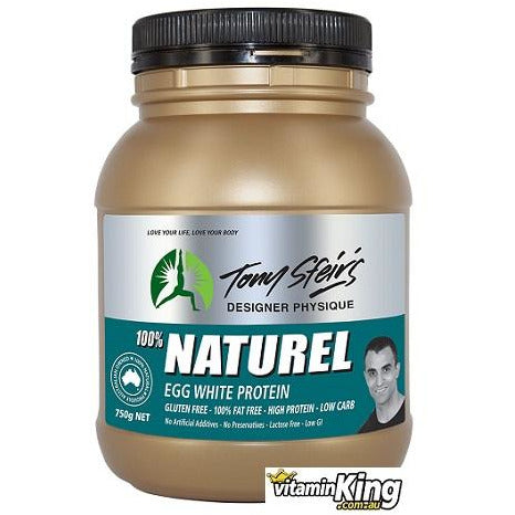 Egg White Protein Powder 750g by Tony Sfeirs Designer Physique