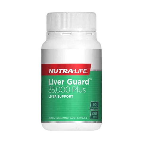 Liver Guard (Liverguard) 35000 Plus by Nutra Life