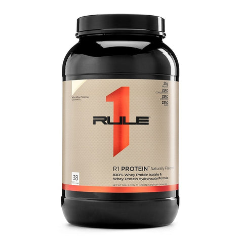 Rule 1 Natural Whey Protein Isolate 38 Serves