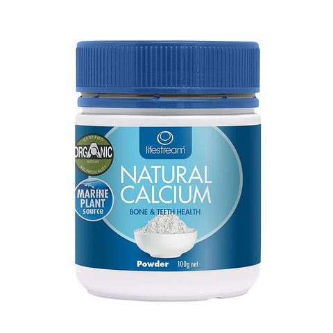 Natural Calcium Powder 100g by Lifestream