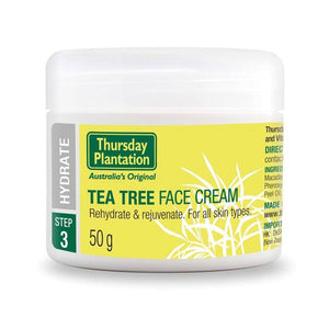 Tea Tree Face Cream 65g by Thursday Plantation