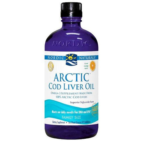 Image of Arctic Cod Liver Oil 473ml by Nordic Naturals