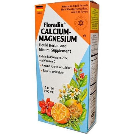 Calcium and Magnesium Liquid 500ml by Floradix